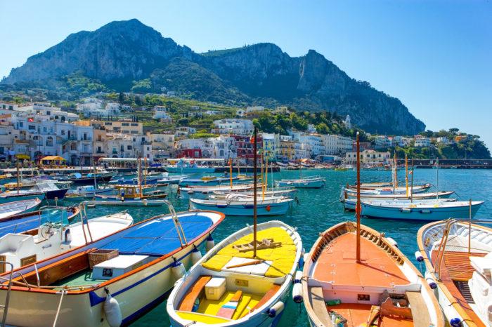 Capri Boat + Walking Tour